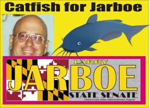 Catfish Larry yard sign