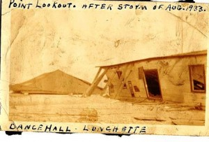 History Point Lookout after hurricane of 19330001