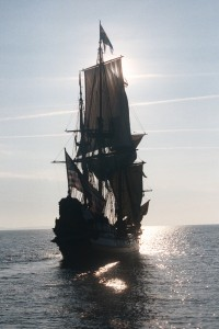 The Kalmary Nyckel sailing south on the Potomac River. THE CHESAPEAKE TODAY photos