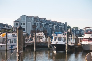 Existing Condos on the water at Chesapeake Beach are located across the street from Abner's location. THE CHESAPEAKE TODAY photo