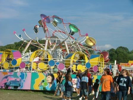 The midway will be ready for riders, gawkers and parents looking for kids.