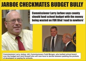 Jarboe Checkmates Budget Bully