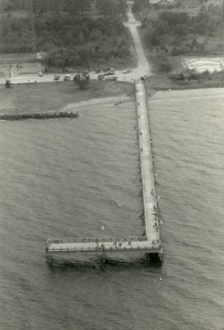 Point Lookout Fishing Pier. THE CHESAPEAKE TODAY photo by Darrin Farrell