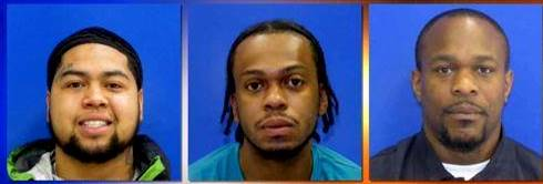 Trappe Bank Robbery arrests:  Bannister, Carroll, Morton