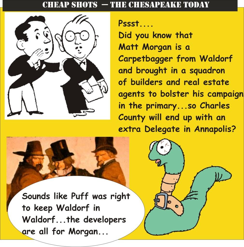 Carpetbaggers for Morgan --- Keep Waldorf in Waldorf!