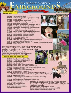 St Mary's Fair 2014 program B