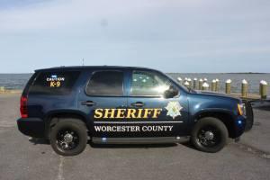 Worcester County Sheriff k-9 patrol
