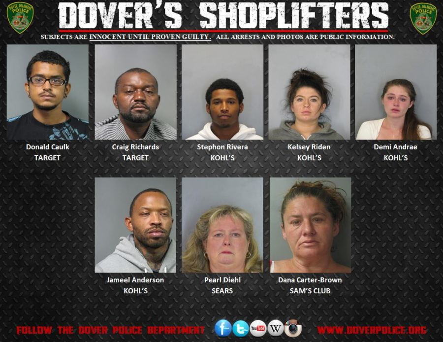 Dovers shoplifters