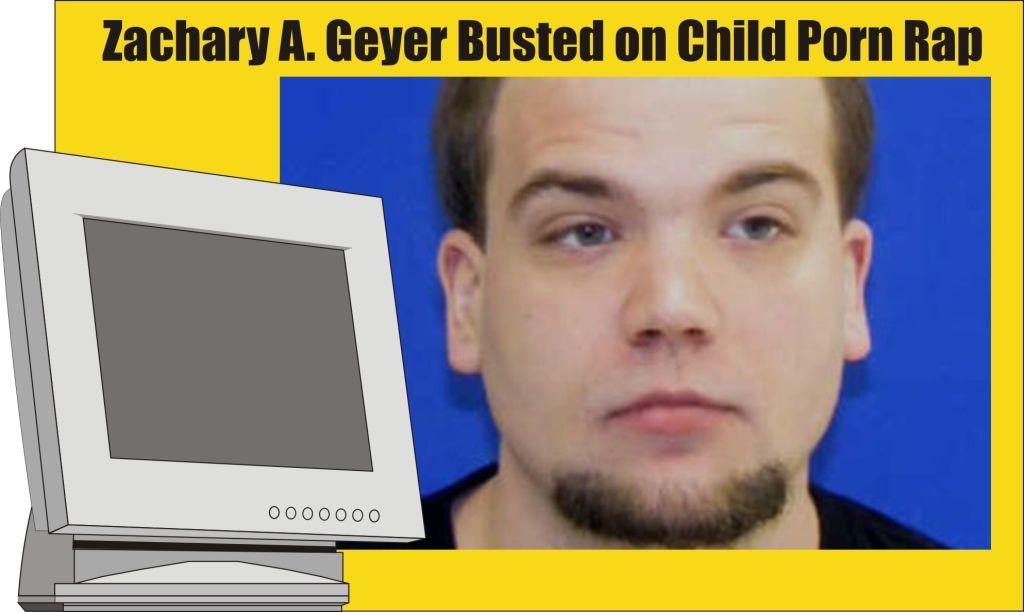 Zachary Geyer of Chestertown child porn