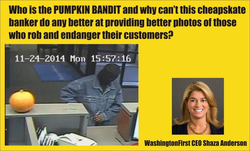 the Pumpkin Bandit