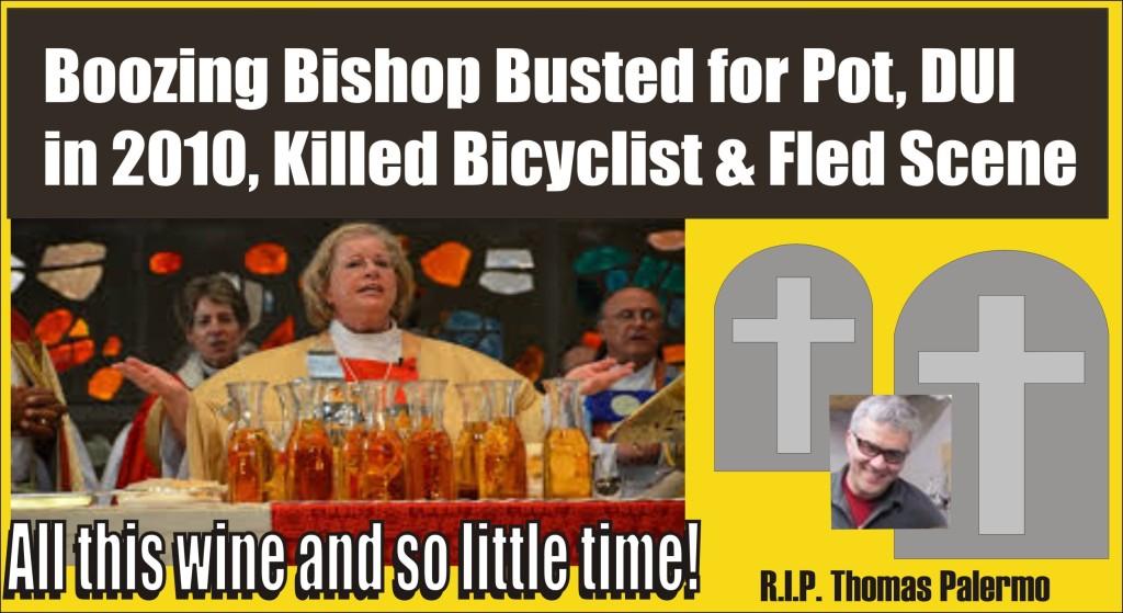 Boozing Bishop hit killed and ran