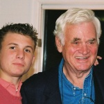 Walter B. Dorsey III, murdered in Inglewood California, shown here in 2003 with his grandfather, longtime St. Mary's County Md. States Attorney Walter B. Dorsey.  THE CHESAPEAKE TODAY  photo