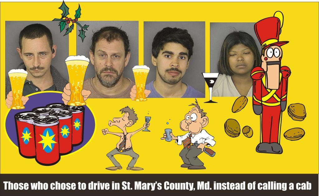 St Marys Sheriff DWI list for Dec 12 2014