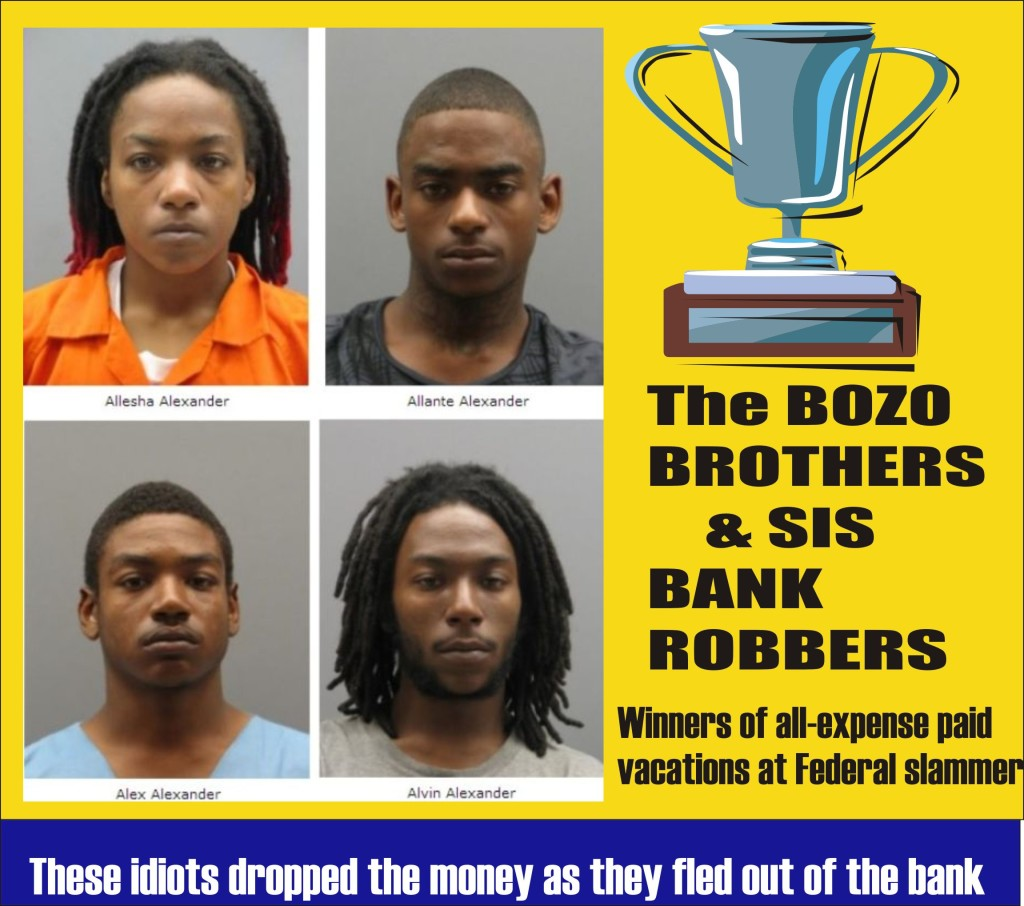 Bozo Brothers and Sis Bank Robbers