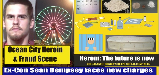 Sean Dempsey faces new charges in Ocean City