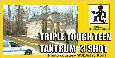 Triple Tough Teen Tantrum shooting Clinton Md WJLA