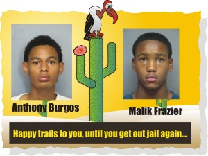 Anthony Burgos and Malik Frazier head back to slammer for heroin