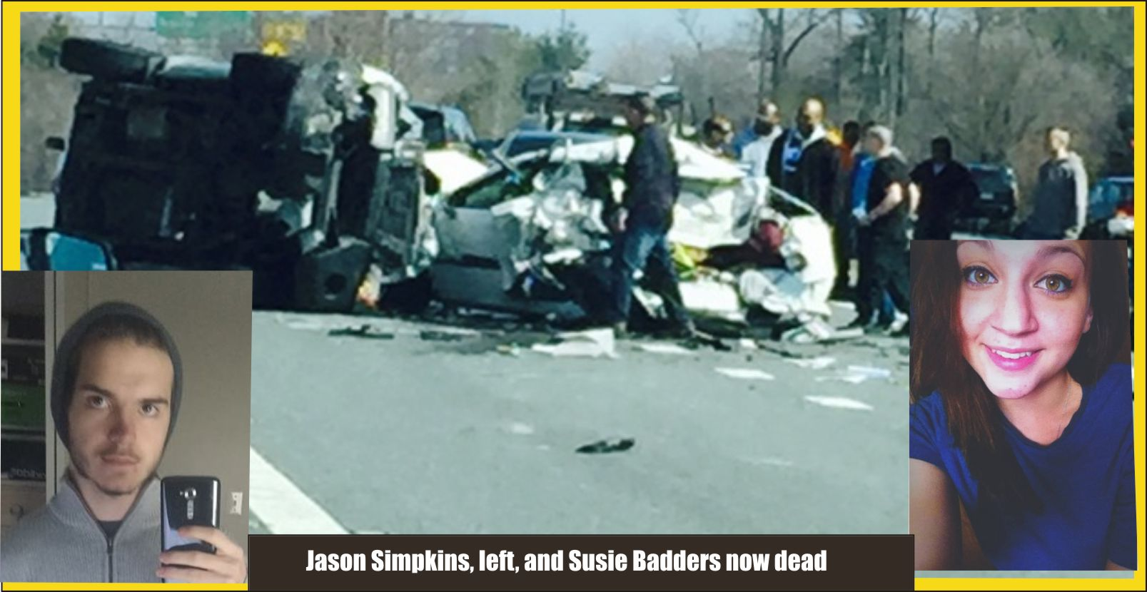 Jason Simpkins and Susie Badders now dead too in Rt