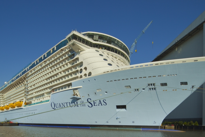The Royal Caribbean Quantum of The Seas