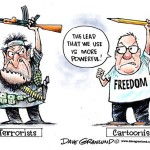 Freedom for cartoonists against radical Islam