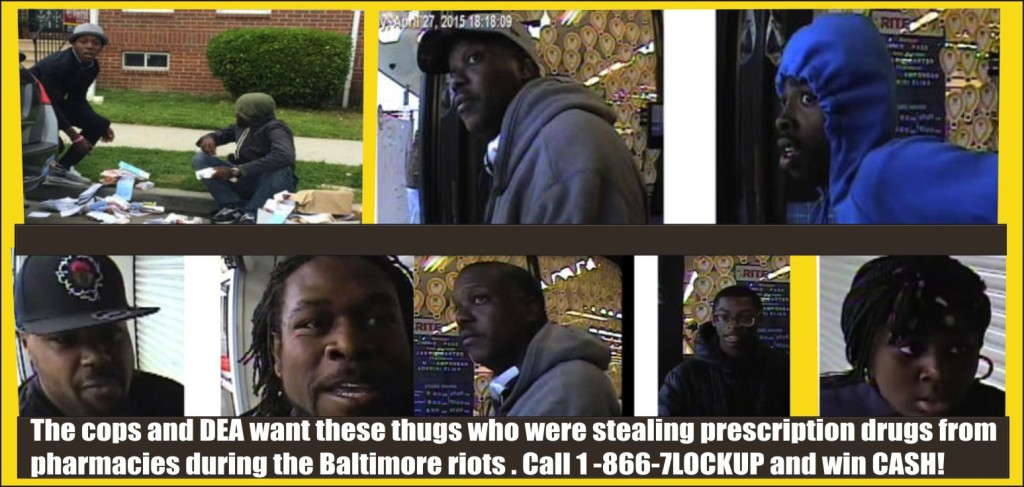 Do you know these Baltimore thugs