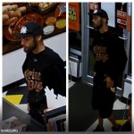 Armed Robbery suspect in Glen Burnie Little Caesars.