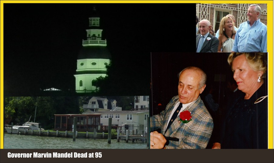 Governor Marvin Mandel dead at 95; spent last days enjoying grandchildren, Ravens and steamed crabs