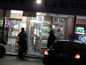 Canopy Liquors was the scene of a shooting in broad daylight on a Sunday afternoon. THE CHESAPEAKE TODAY photo