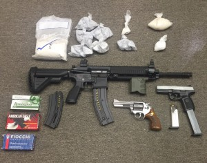Heroin drugs and guns in Wicomico raid 101415