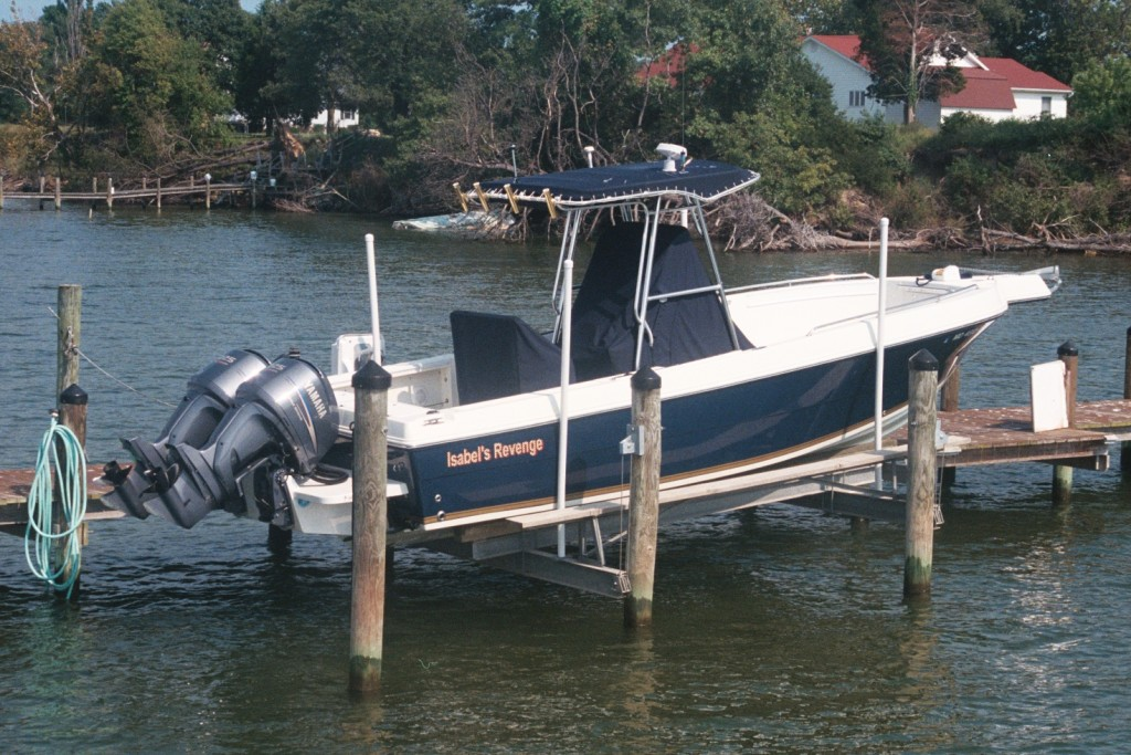 Hurricane Isabel's Revenge - a new boat replaced one lost in the hurricane.