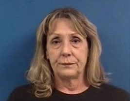 Catherine Lyon arrest photo Calvert County Sheriff 103115
