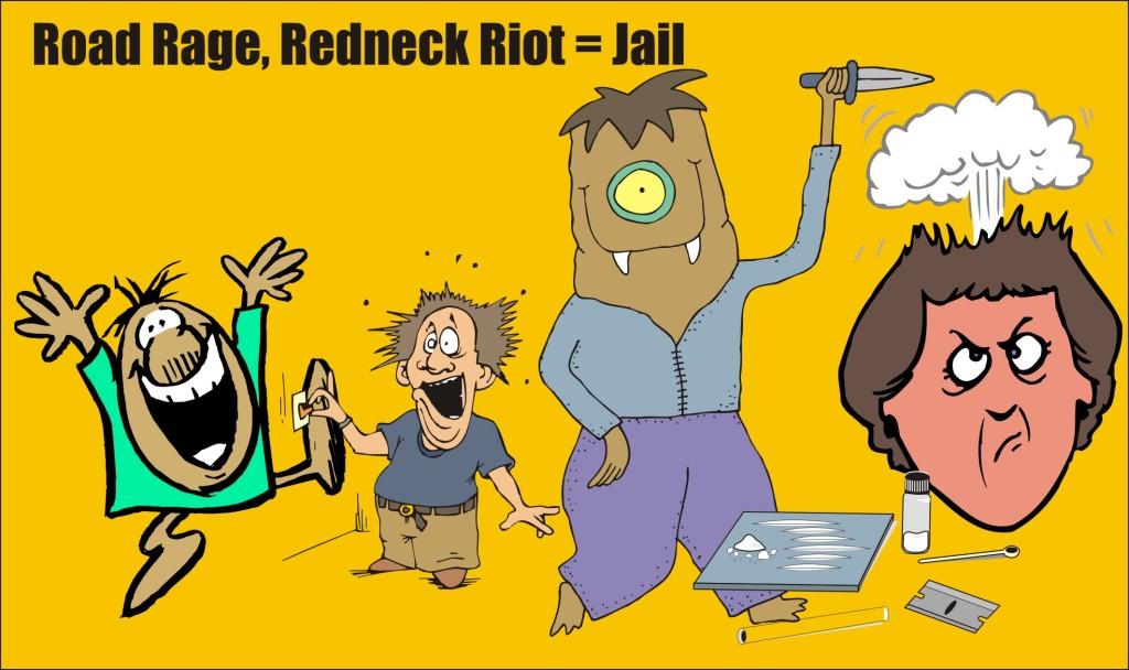 Road Rage Redneck Riot