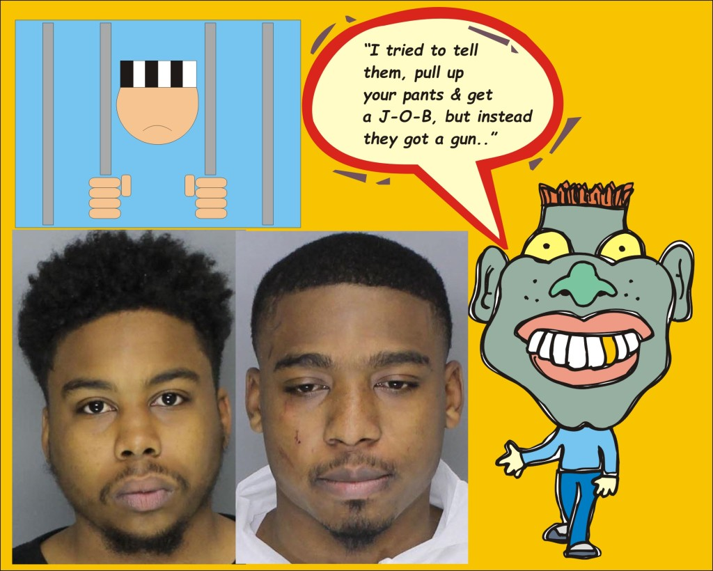 Balt Police charge two with armed robbery 020116