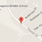 Site of rape of child in Annapolis by Daniel Rivera. Map from Google