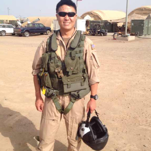 Lt. Cmdr. Edward C. Lin charged with espionage giving Navy secrets to China. photo from Linked In