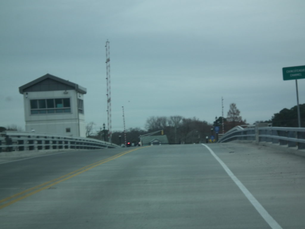 The drawbridge at Chincoteaque, Virginia THE CHESAPEAKE TODAY photo