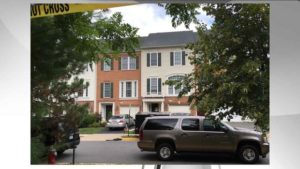 Nicholas Young residence in Fairfax Co DC Metro Cop traitor 080316 Photo courtesy of NBC 4