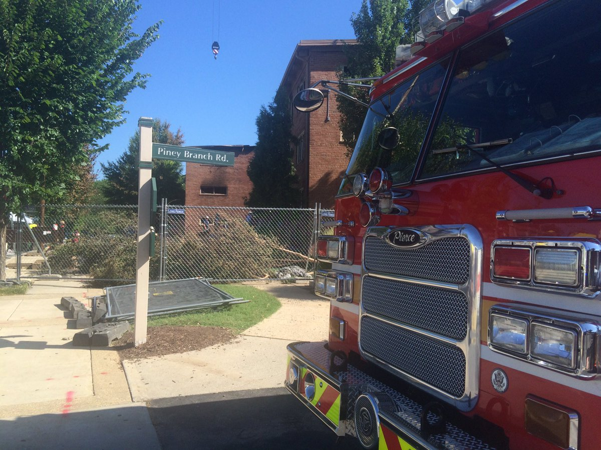 Several still missing in Silver Spring Fire Piney Branch Road photo